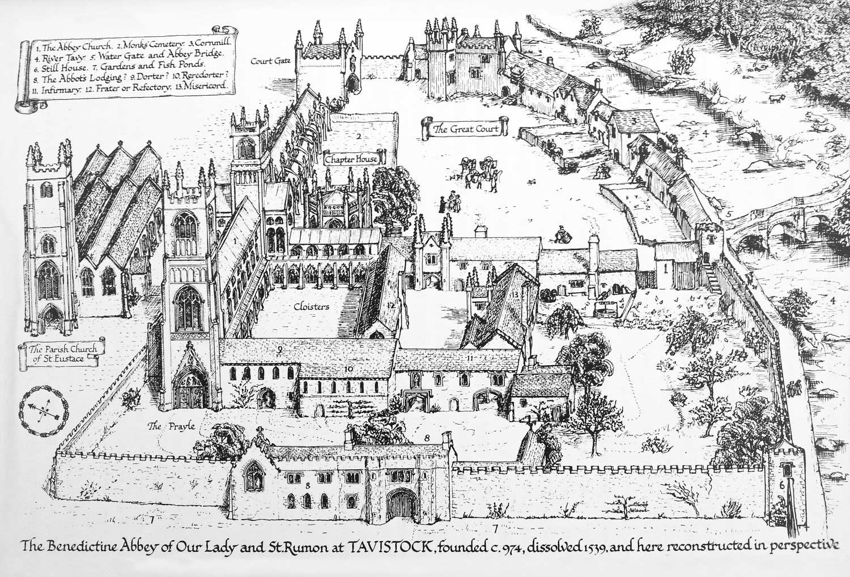 Finbergs Tavistock Abbey